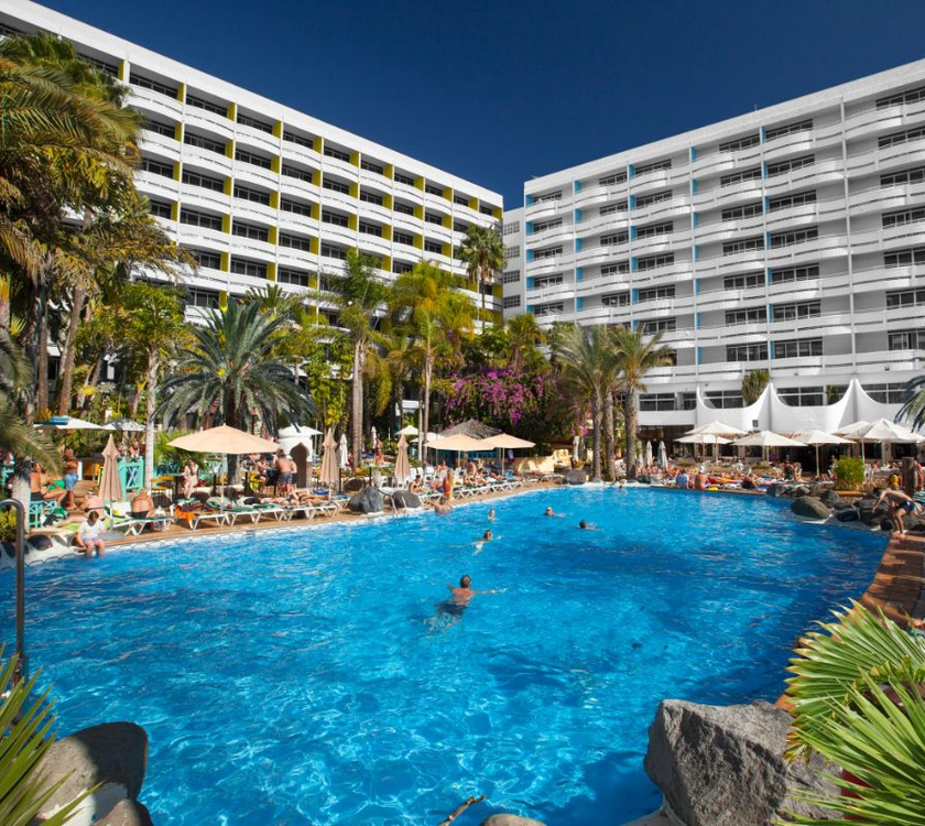 Schwimmbad abora buenaventura by lopesan hotels gran canaria